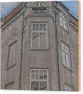 Corner Building Helsingborg 02 Wood Print