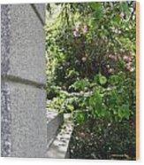 Corner Garden Wood Print