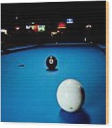 Corner Pocket Wood Print