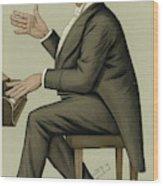 Corney Grain  Entertainer        Date Wood Print
