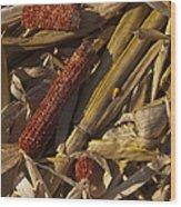 Cornhusk Wood Print