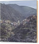 Corniglia Wood Print