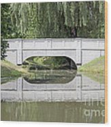 Corning Ny Denison Park Bridge Wood Print