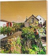 Cornish Reflections  Wood Print