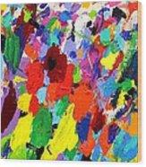 Cornucopia Of Colour I Wood Print