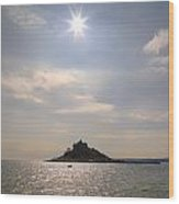 Cornwall - St Michael's Mount Wood Print