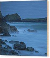 Cornwall Coast Wood Print