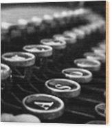 Corona Zephyr Keyboard Wood Print