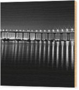Coronado Bay Bridge Wood Print by Ryan Weddle