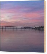 Coronado Bridge Sunrise Wood Print