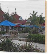 Coronado Ferry Landing Marketplace In Coronado California 5d24386 Wood Print