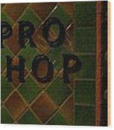 Coronado Golf Course Pro Shop California Wood Print