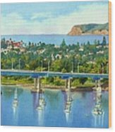 Coronado Island California Wood Print by Mary Helmreich