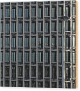 Corporate Reflection Wood Print