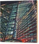 Corporation Wood Print