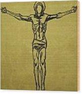 Corpus Christi And Dove Wood Print