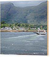 Corran Ferry Wood Print