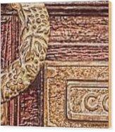 Correo In San Miguel De Allende Wood Print