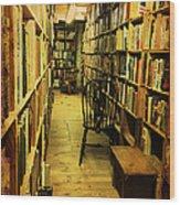 Corridor Of Contemplation Wood Print