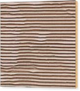 Corrugated Cardboard Wood Print