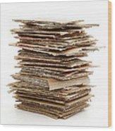 Corrugated Fiberboard Wood Print by Fabrizio Troiani