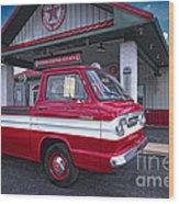 Corvair 95 Rampside Wood Print