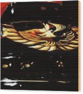Trans Am Against Red Wood Print