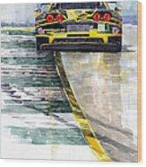 Corvette C6 Wood Print