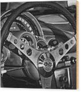 Corvette Cockpit Wood Print