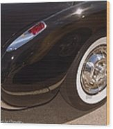 Corvette Curves Wood Print