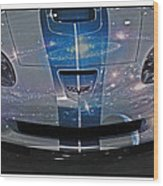 Corvette Is Out Of This World Wood Print