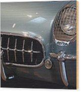 Corvette Roadster 1955 Wood Print