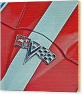 Corvette Wood Print