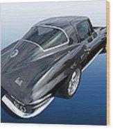 Corvette Stingray 1966 Wood Print