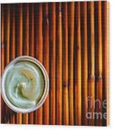Cosmetic Cream Wood Print