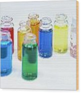 Cosmetics Manufacturer Wood Print