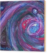 Cosmic Activity 15 Wood Print
