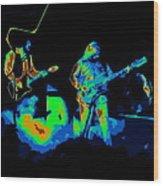Cosmic Bto In Spokane 1976 Wood Print