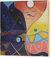 Cosmic Carnival Vlll Aka Sacred And Profane Wood Print