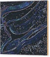 Cosmic Dancer By Jrr Wood Print by First Star Art