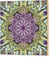 Cosmic Electricity Wood Print