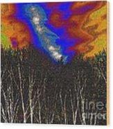 Cosmic Forces Wood Print