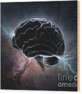 Cosmic Intelligence Wood Print
