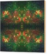 Cosmic Kaleidoscope 3 Wood Print by Jennifer Rondinelli Reilly - Fine Art Photography