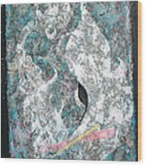 Cosmic Keyhole Wood Print