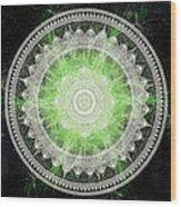 Cosmic Medallians Rgb 1 Wood Print