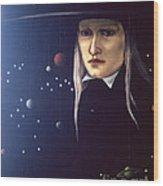 Cosmic Pilgrim Wood Print
