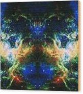 Cosmic Reflection 2 Wood Print