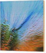Cosmic Series 006 - Under The Sea Wood Print