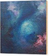 Cosmic Skies Wood Print